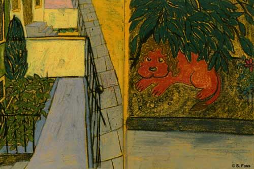 bremen Katzengräber im garten neustadt altbremerhaus