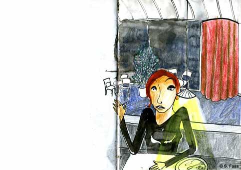 bremen, mit Aurelia in den weserterassen