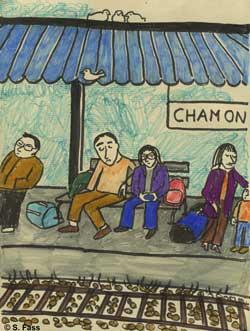 chamonix, bahnhof
