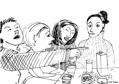 chamonix, Marcel und seine Weiber am silvesterabend