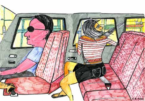 chamonix, im auto genf