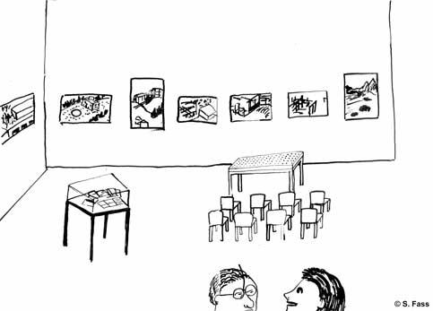 leipzig, Galerie der HGB mit meinen Bildern