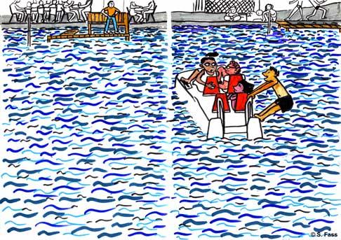 chamonix, paddeln in annecy