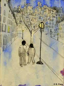 paris, boulevard raspail, montparnasse