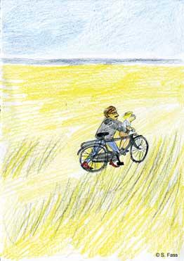 wilhelmshaven, Vater und Sohn am Strand