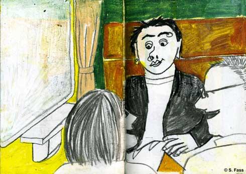Erotische Zugfahrt von berlin nach paris