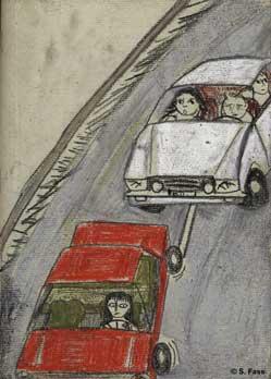berlin raser auf autobahn
