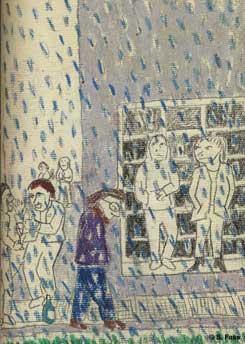 leipzig regen vor spreadshirt, karl heine straße