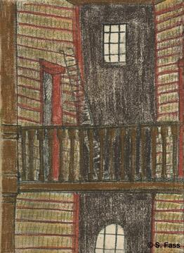 Die alte Bibliothek der Universität in Dublin Irland