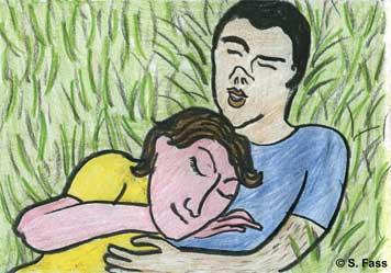 in Balaklawa (Krim/Ukraine) können Olivier und ich ruhig schlafen