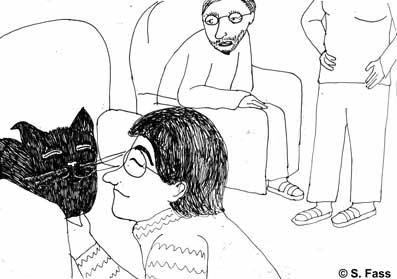 Ich streichel die Katze von Birgit und Uwe
