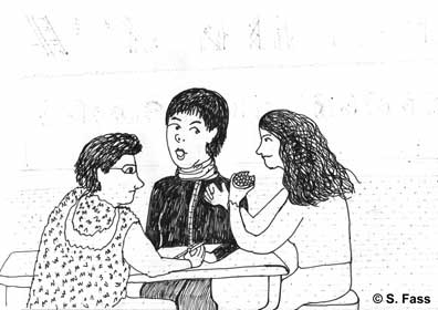 Treffen von Illufabrik mit Fine und Ezra