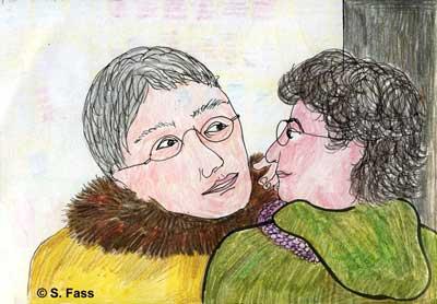 Weihnachten in Bruz (Frankreich): Oliviers Mutter streicht mir über die Wange