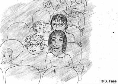 in Bruz gehe ich mit Elsa ins Kino