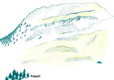 Barnave Drôme Berg