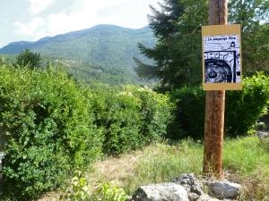 """Le paysage libre: magazine de """"Laisser le passage libre — rencontres d'arts en marche"""", Barnave (Drôme)"""