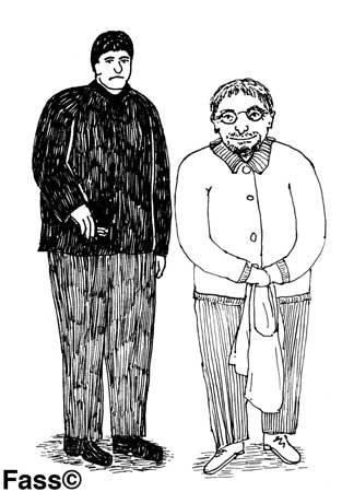 Karl und Marius in Leipzig