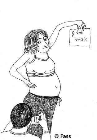 Achter Schwangerschaftsmonat