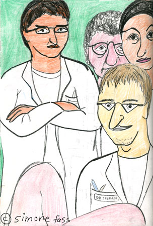 Ärzteteam Frauenklinik Uniklinik