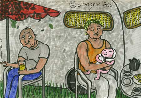 Worpswede Camping mit Baby